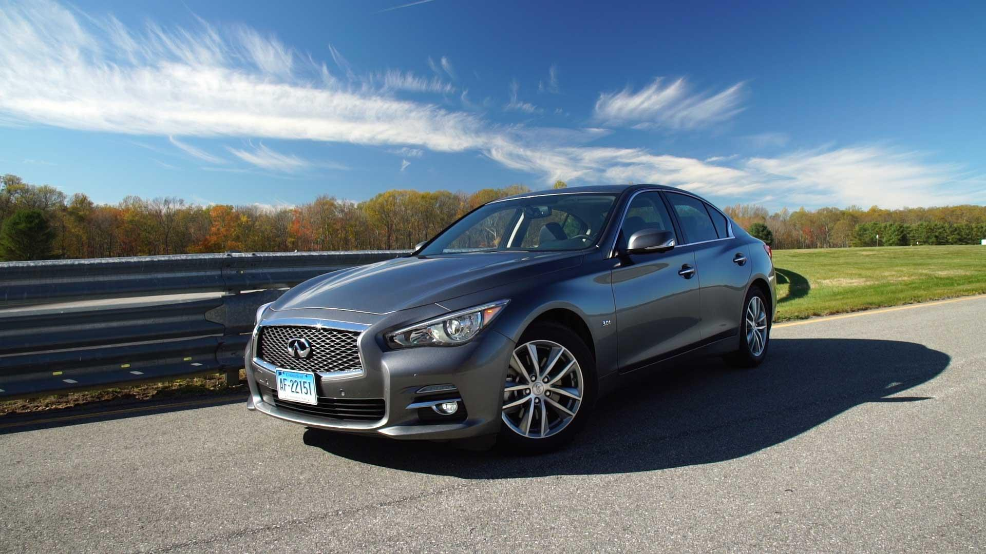 2016 infiniti q50 review performance over panache consumer reports. Black Bedroom Furniture Sets. Home Design Ideas