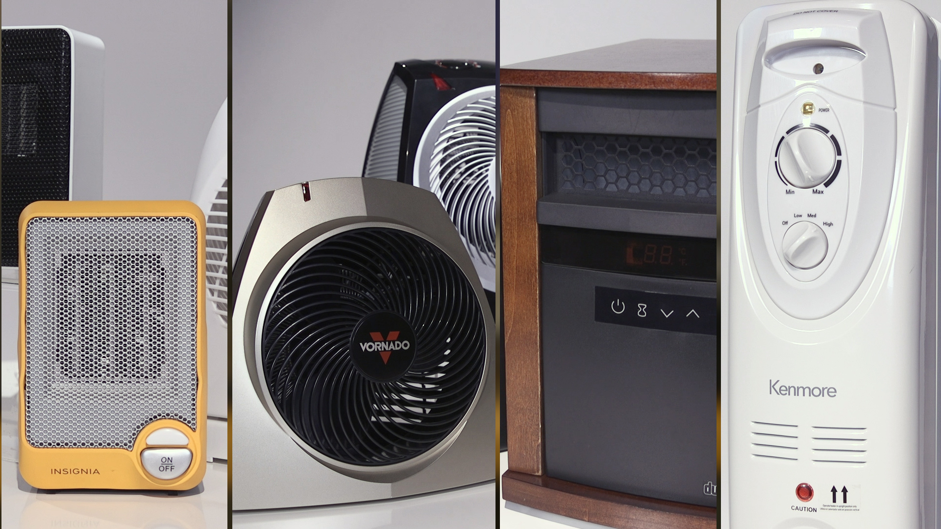 What are some popular crawlspace heater brands?