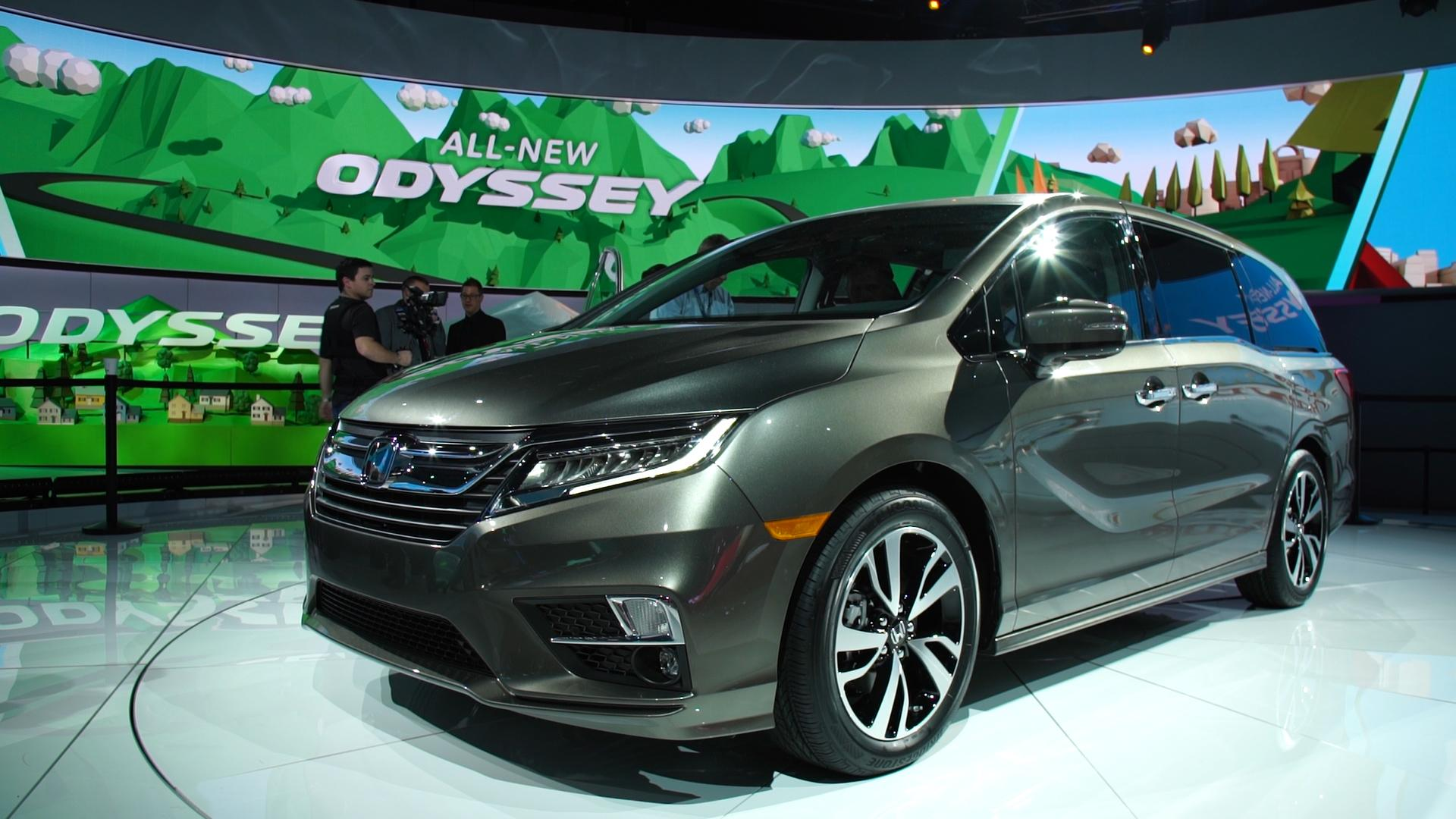 Used Chevy Traverse >> All-New 2018 Honda Odyssey Offers High Tech - Consumer Reports