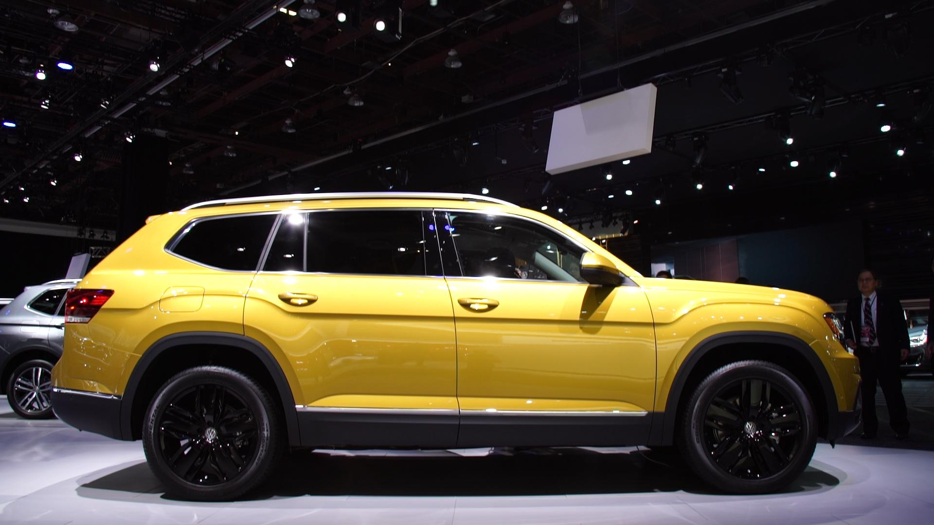 All New 2018 Volkswagen Atlas Adds A Three Row Suv To