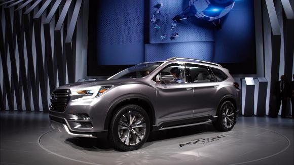 2018 Subaru Ascent Preview