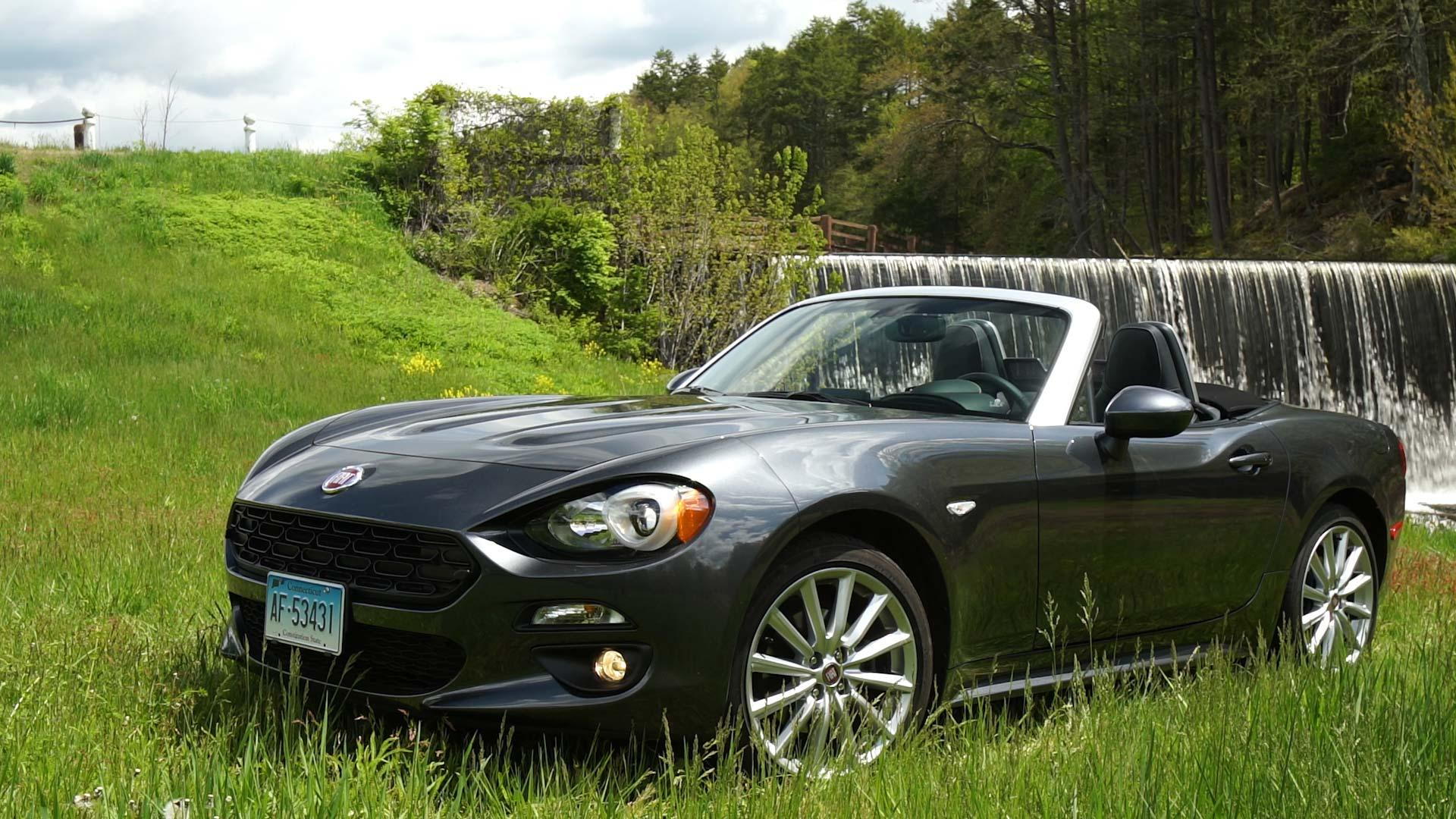 First Drive: 2017 Fiat 124 Spider - Consumer Reports