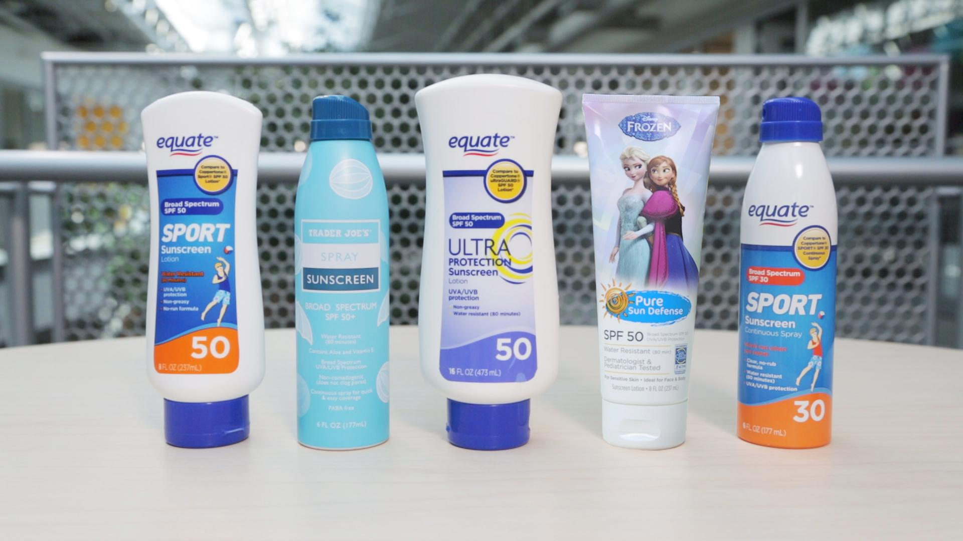 consumer reports best cheap sunscreens