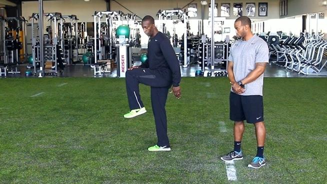Michael Johnson Performance Series: The 40-Yard Dash Drive Phase