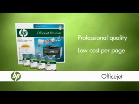 New HP Officejet Pro Printing System