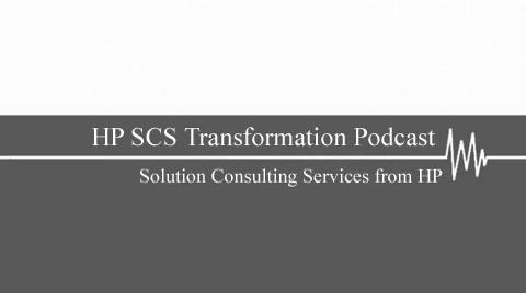 HP SCS Transformation Podcast