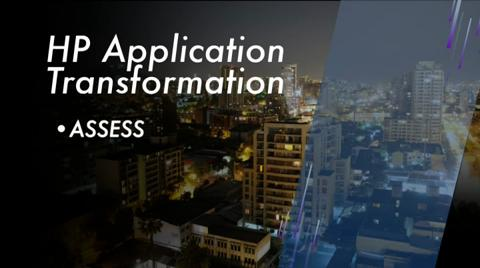 HP Application Transformation