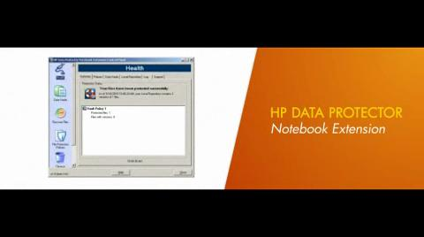 HP Data Protector Notebook Extension