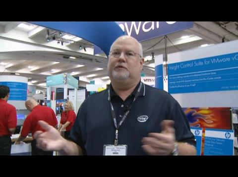 Hank Lea (Intel) discusses VMworld