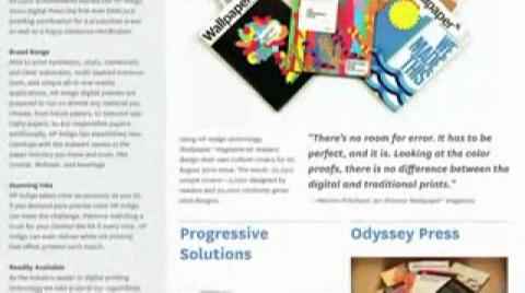 Collaborate Print Magazine:HP Indigo