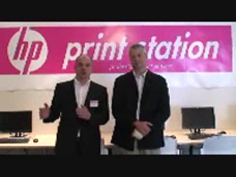 HP Video: HP Print Station Launch