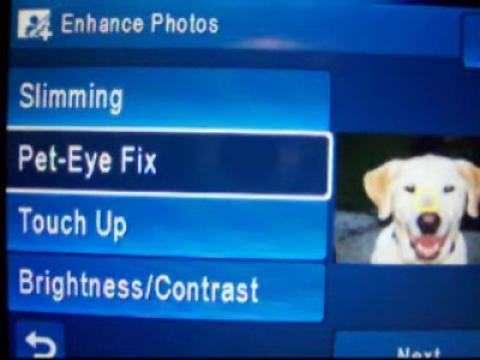 HP Video: How To Fix Pet Red Eye