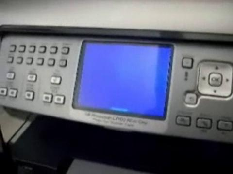 Playing Pong on HP Printers: A Video