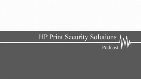 HP Print Security Solutions