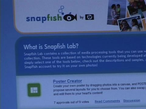 HP Labs: Snapfish Lab