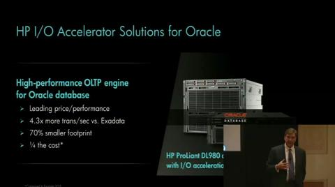 HP and Oracle Converged Applications