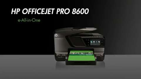 HP OJ Pro 8600 Overview NA Full