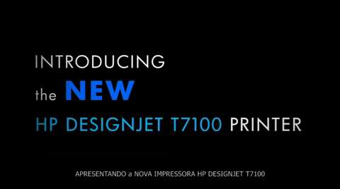 Impressora HP Designjet T7100
