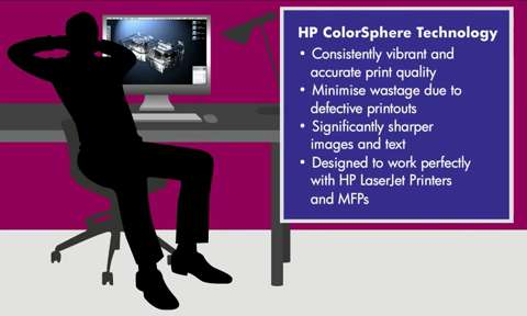 HP ColourSphere Technology