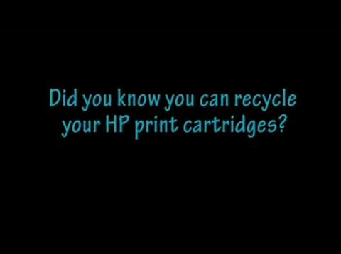 Can you recycle print cartridges?