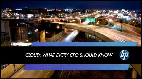 Cloud: What every CFO should know
