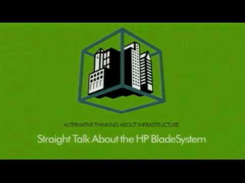 The laws of Blades: HP Blade videos