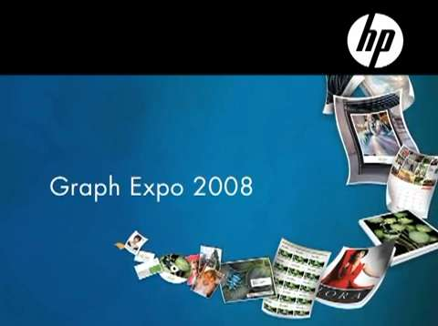 Graph Expo 2008: HP booth tour
