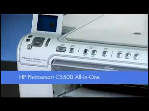 HP Photosmart C5500 Series