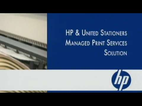 United Stationers and HP