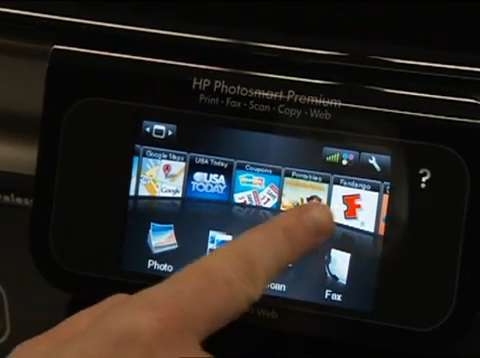 HP Photosmart Printing without a PC