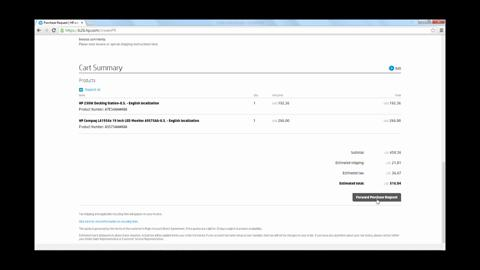 Create a Purchase Request