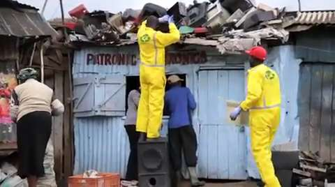 HP's equipment recycling program in Kenya