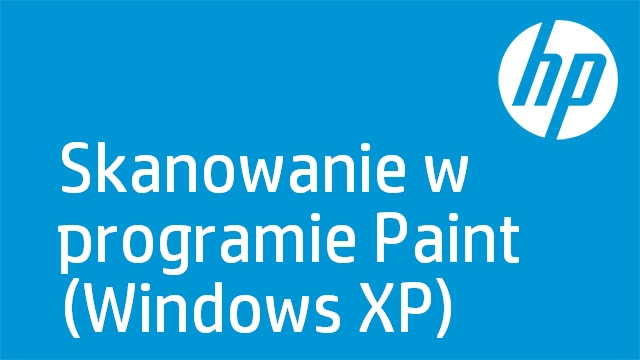 Skanowanie w programie Paint (Windows XP)