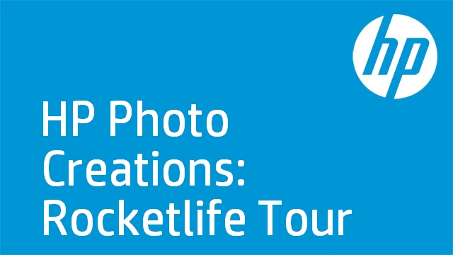 HP Photo Creations: Rocketlife Tour
