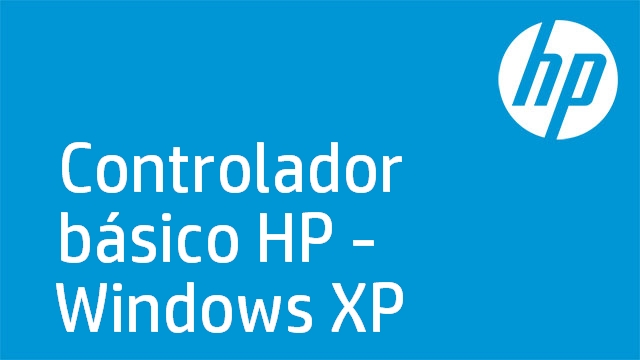 Controlador básico HP - Windows XP