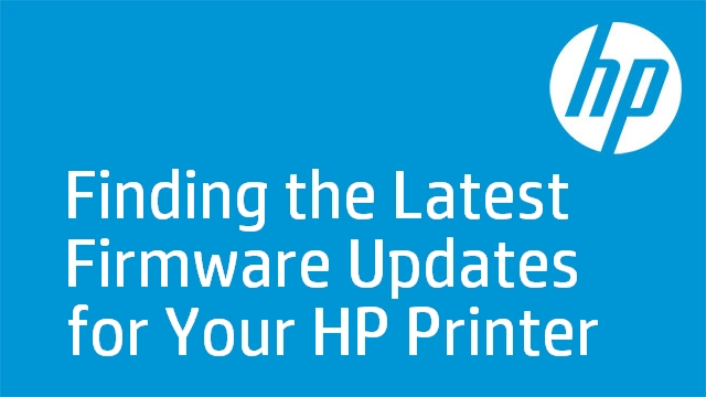 Finding the Latest Firmware Updates for Your HP Printer