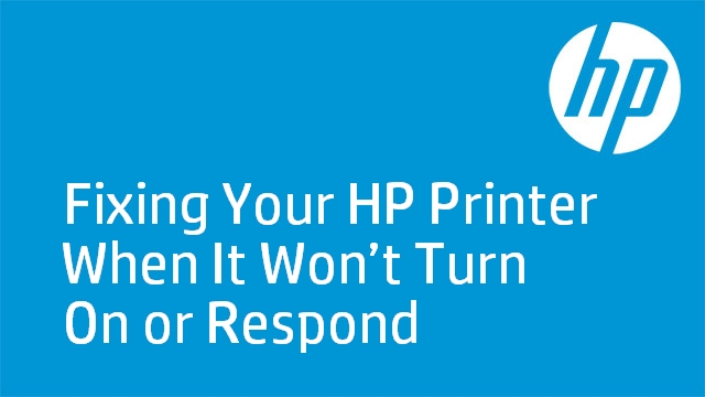 Fixing Your HP Printer When It Won't Turn On or Respond