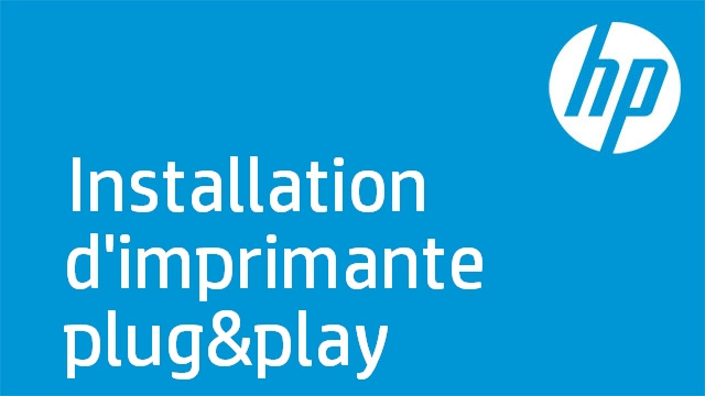 Installation d'imprimante plug&play