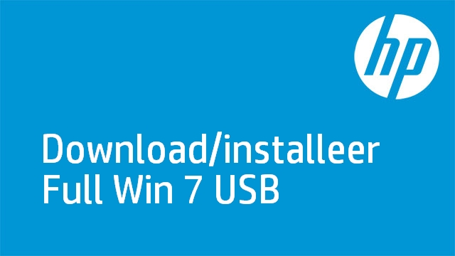 Download/installeer Full Win 7 USB