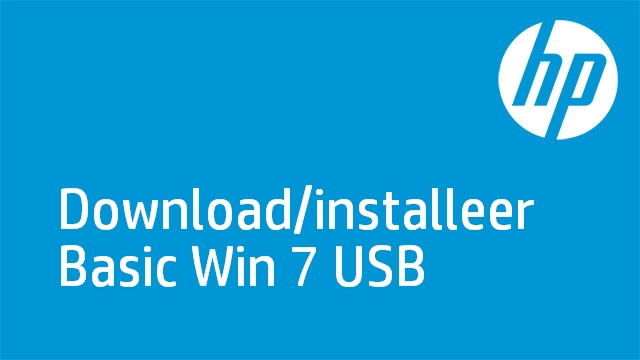 Download/installeer Basic Win 7 USB