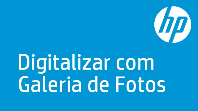 Digitalizar com Galeria de Fotos