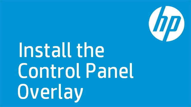Install the Control Panel Overlay