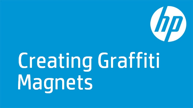 Creating Graffiti Magnets