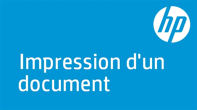 Impression d'un document