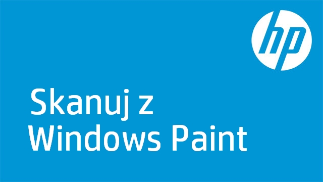 Skanuj z Windows Paint