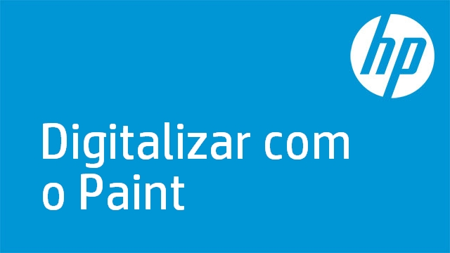 Digitalizar com o Paint