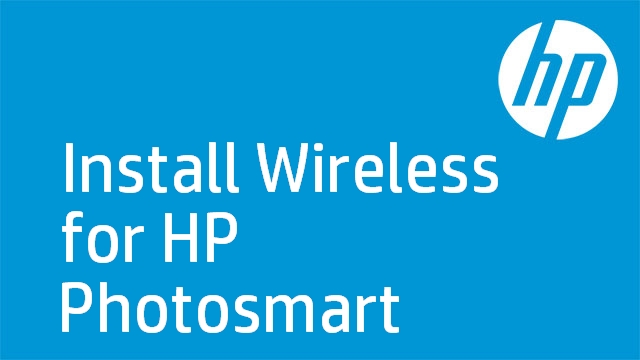 Install Wireless for HP Photosmart