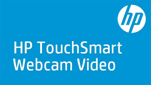 HP TouchSmart Webcam Video