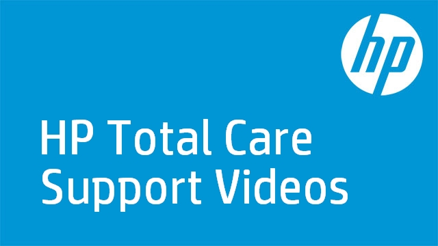 HP Total Care Support Videos