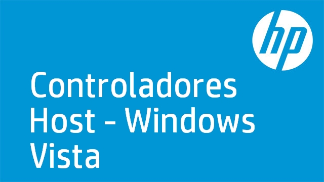 Controladores Host - Windows Vista